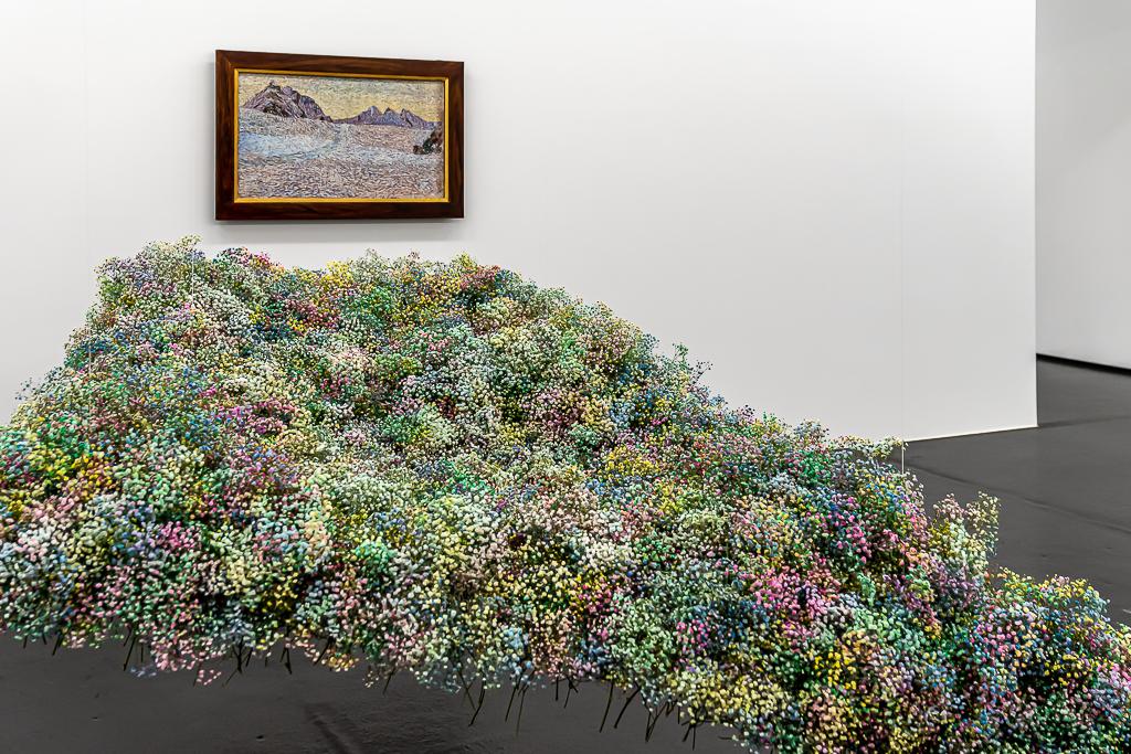 Flowers to Arts: Meisterfloristin Claudia Fischer und Floristin Annika Ruch, Giovanni Segantini