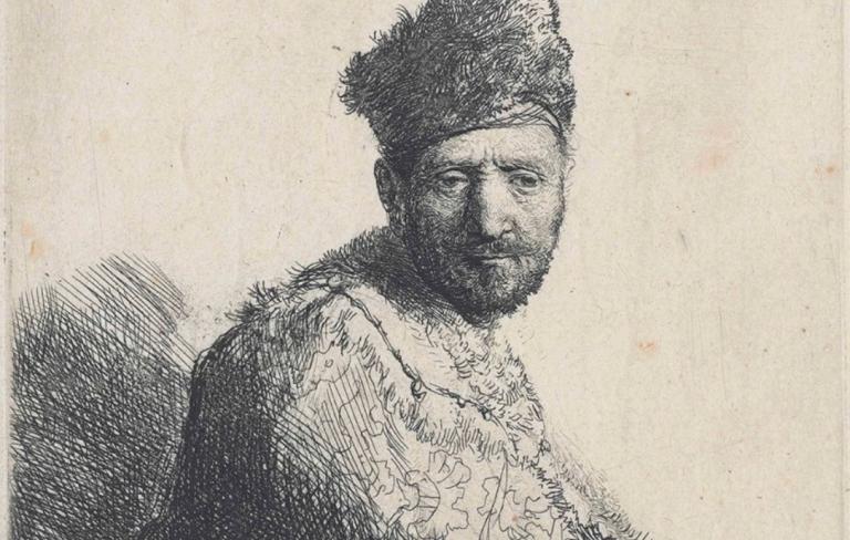 Sechs Rembrandt-Radierungen für Irlands Nationalmuseen.