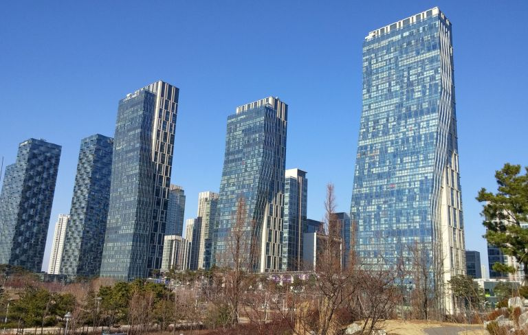 Songdo City; Foto: Fleetham under CC BY-SA 4.0