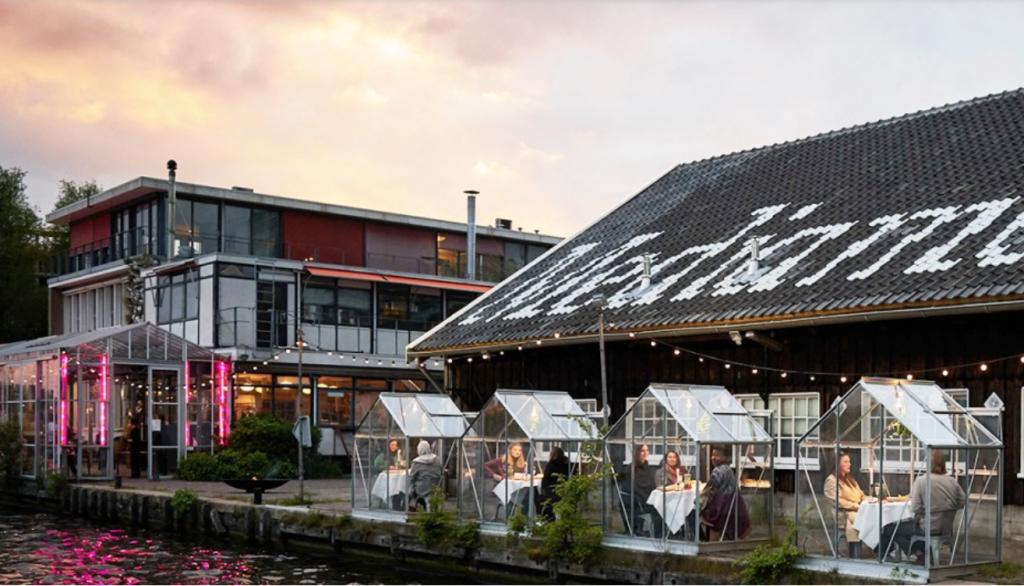 Amsterdam's Mediamatic Biotoop restaurant