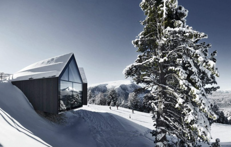 Berghütte Oberholz; Foto: Oskar Da Riz