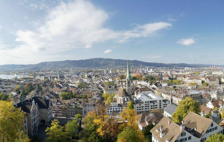 Zürich-Panorama von AngelaL_17 auf Pixabay