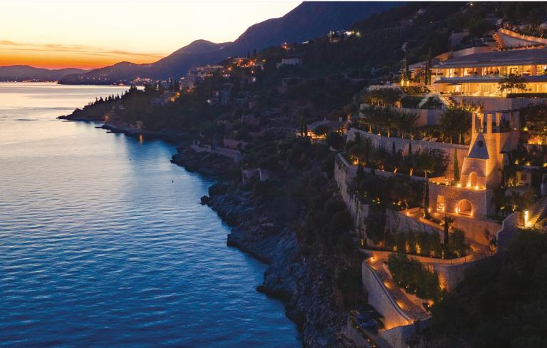 The Ultima Corfu villa in Greece