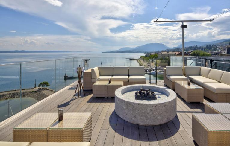 Waves des Best Western Premier Hotel Beaulac in Neuchatel